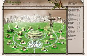 Screenshot 3 von Browsergame Dragosien