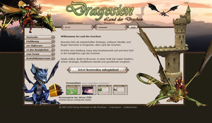 Screenshot 2 von Browsergame Dragosien