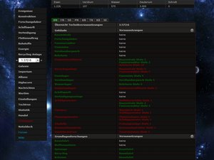 Screenshot 2 von Browsergame BlackSun