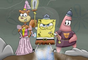 Screenshot 1 von Browsergame SpongeTopia