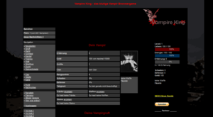 Screenshot 1 von Browsergame Vampire-King