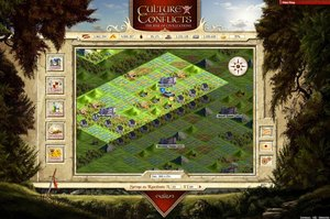 Screenshot 1 von Browsergame Culture Conflicts