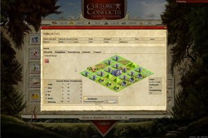 Screenshot 2 von Browsergame Culture Conflicts