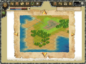 Screenshot 1 von Browsergame Eaden-Andran