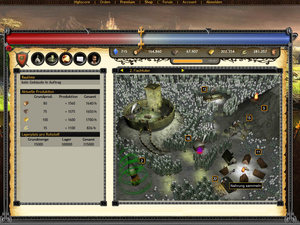 Screenshot 1 von Browsergame MysticFear