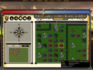 Screenshot 2 von Browsergame MysticFear