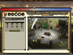 Screenshot 3 von Browsergame MysticFear