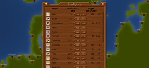 Screenshot 2 von Browsergame Galiator Trader