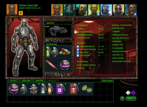 Screenshot 2 von Browsergame Bionic Battle Mutants